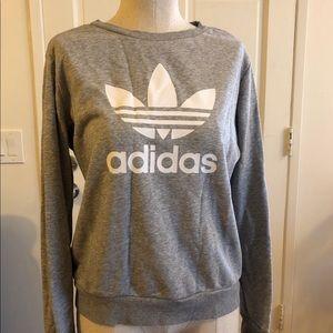 Adidas warm-up crew sweatshirt